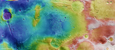 You can now tour the Red Planet's southern hemisphere virtually