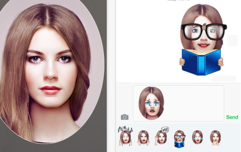 Make emojis from your own portrait