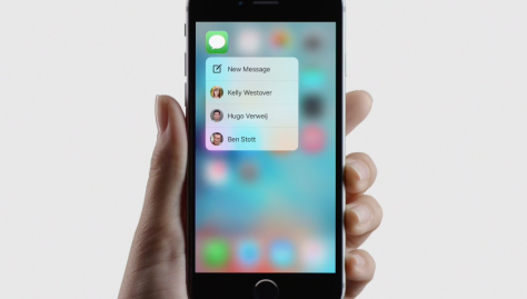 Apple explains 3D Touch, probably the best reason to get a 6s, in this cool new video.