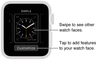 How to customise Watch faces in watchOS 2