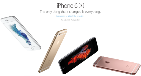 New iPhones are faster and include a rose-colored model