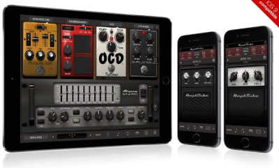 IK has added more amp profiles and features to Amplitube.