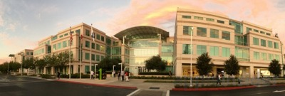 (Apple's Infinite Loop campus in Cupertino, from the Apple Insider site)
