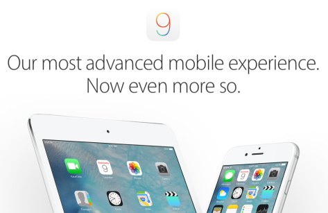 (Image from Apple's iOS 9 page)
