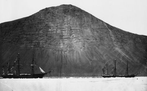19th Century ice-voyage logbooks have taken on a new importance