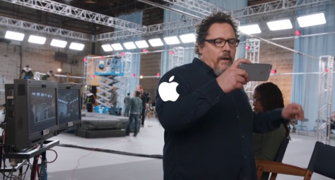 Another Apple add with John Favreau