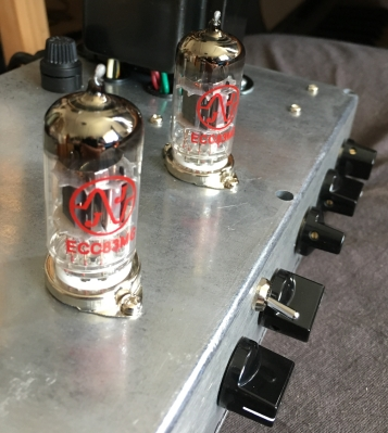 I don't know if Ryan would make another one, but this custom valve preamp thing (I call it 'Valvo') is awesome.