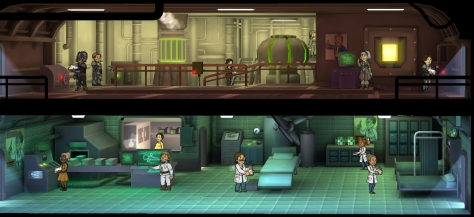 Fallout Shelter is an iOS game made by the famous developers of the Fallout PC game series.