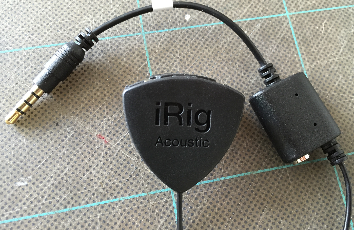 Review ~ iRig Acoustic guitar microphone/interface   Mac NZ