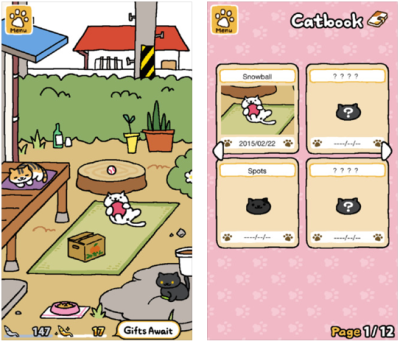 Neko Atsume, crazy, captivating, now in English and free