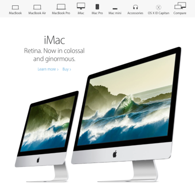 Which Mac should you buy? (Image from Apple NZ's Mac page)