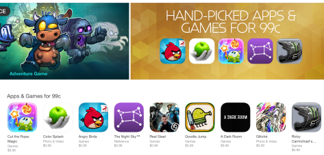 The cheapest apps in the NZ App Store can now be 99¢