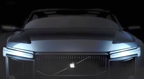 An Apple Car concept drawing reported on CNET (link includes a video)