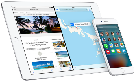 Image from Apple's iOS 9 site.