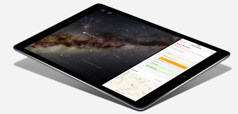 Image from Apple's NZ iPad Pro page