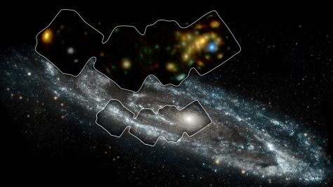 NuSTAR picked up over 40 different instances of a mysterious space object called an X-ray binary thanks to its X-ray view