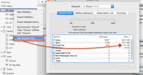 If you use iCloud Mail, (ie, _ _@icloud.com) saving space in your account can free up space in iCloud. For other ISPs, it can stop your server filling up.