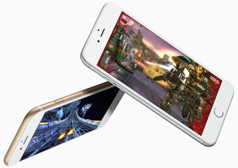 Image from Apple NZ's iPhone 6s page