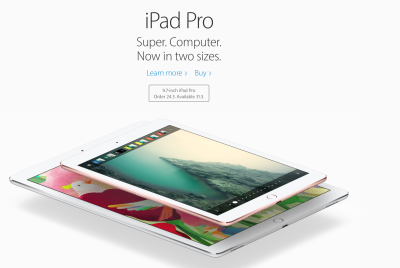 New, smaller iPad Pro is faster (I thought the original was too big anyway)