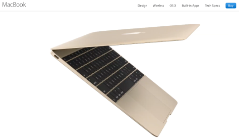 Image from Apple NZ's MacBook page