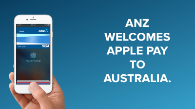 Image from ANZ Australia's Apple Pay site.
