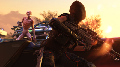 There are four new weapons in the new Xcom DLC