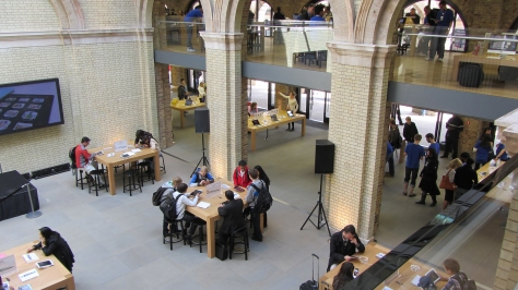 The Covent Garden Apple Store, London