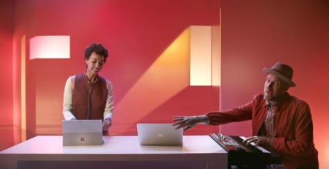 Microsoft has released an ad targeting the MacBook Air