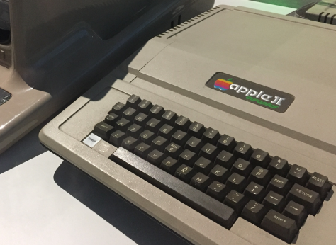 This Apple II is at MOTAT in Auckland