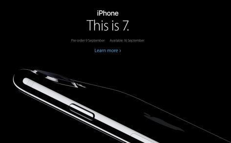 (Image from the Apple NZ iPhone 7 page.)