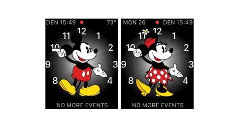 Mickey and the new Minnie Mouse faces can speak the time in watchOS 3