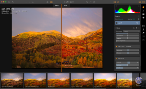 Luminar is an all-new photo editor for Mac