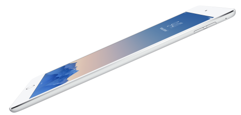 iPad Air 2 from Apple's NZ iPad page