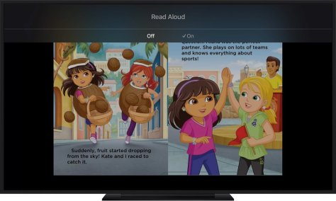 iBooks StoryTime reads stories and entertains your kids for you