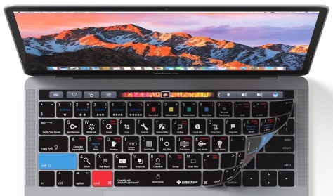 Editors Keys has new overlays for MacBook Pro keyboards – they protect against spills, make the keys quieter and show functions clearly