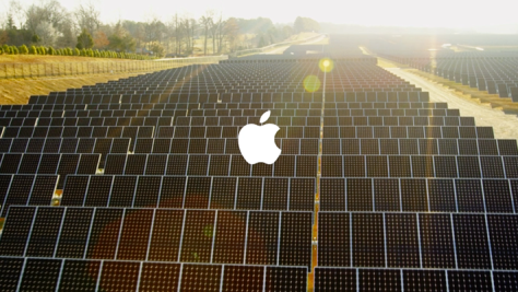 Apple is well-rated by Greenpeace for renewable energy (image from Liberty Voice)