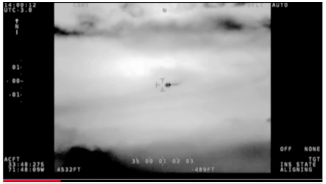 The Chilean government has released 2014 footage of a 'UFO'