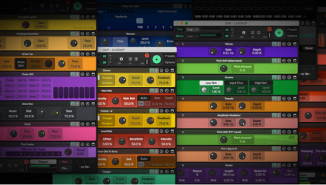Geff is a $30 Mac virtual guitar effects rack with loads of effects