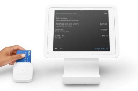 Square has launched a Point of Sale combo for iPad