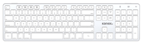 Kanex has released a series of Apple-compatible keyboards