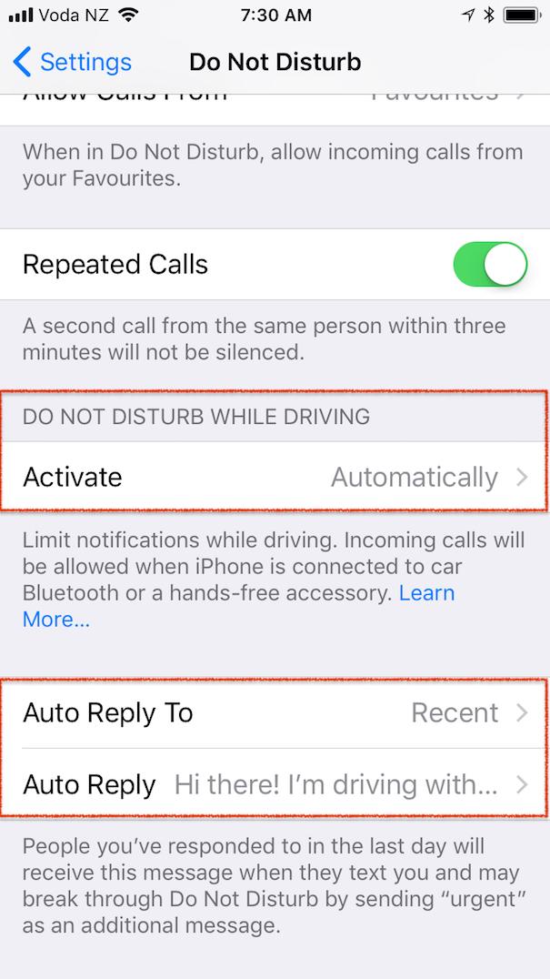 Do Not Disturb | Mac NZ
